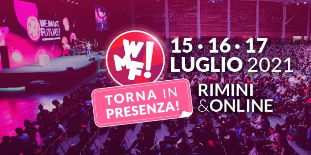 IUSVE presenta il secondo incontro con il #WMF21 We Make Future 2021 ospite Cosmano Lombardo