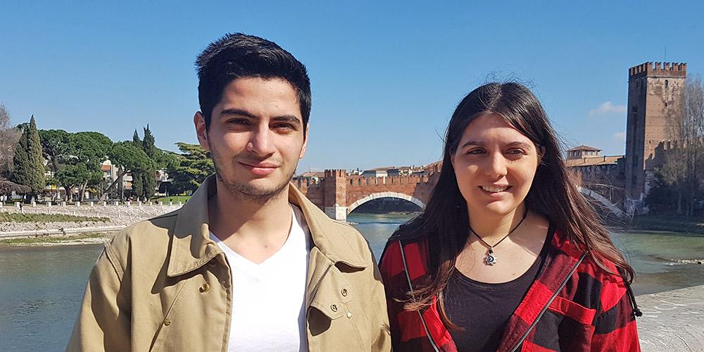 Elisa Bozza e Luca Manicardi vincono la borsa di studio per Philadelphia