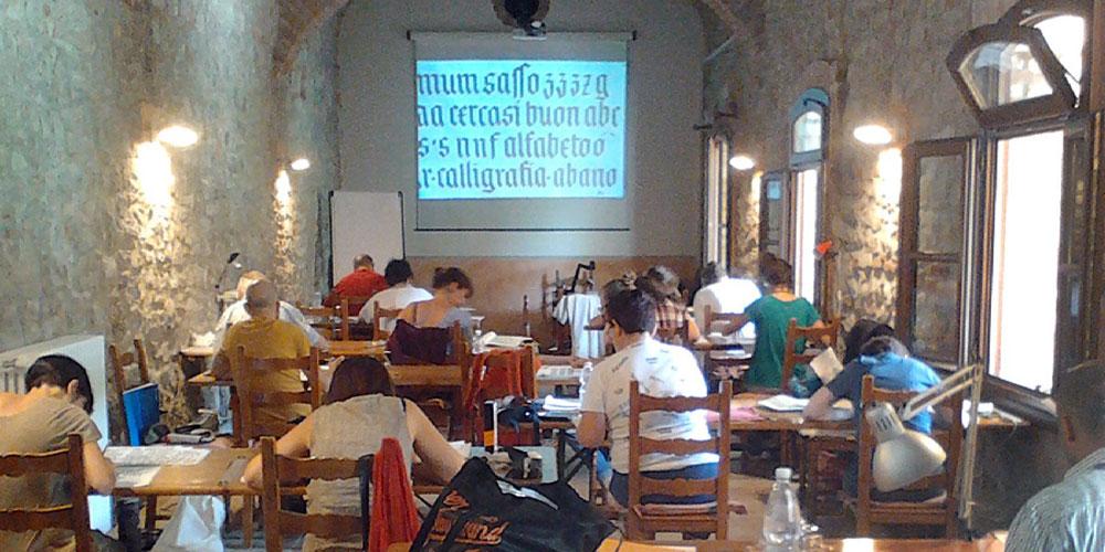 Borsa di studio per partecipare a: Calligrafia dal principio, dal Lapidario greco al Neuland style