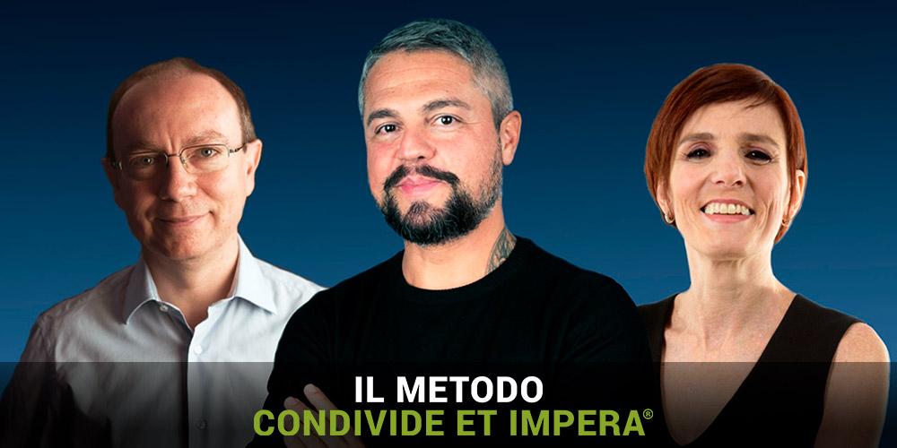 """IUSVE partner per l'evento """"Il metodo Condivide Et Impera"""", invia la tua candidatura per lo #IUSVESocialTEAM"""