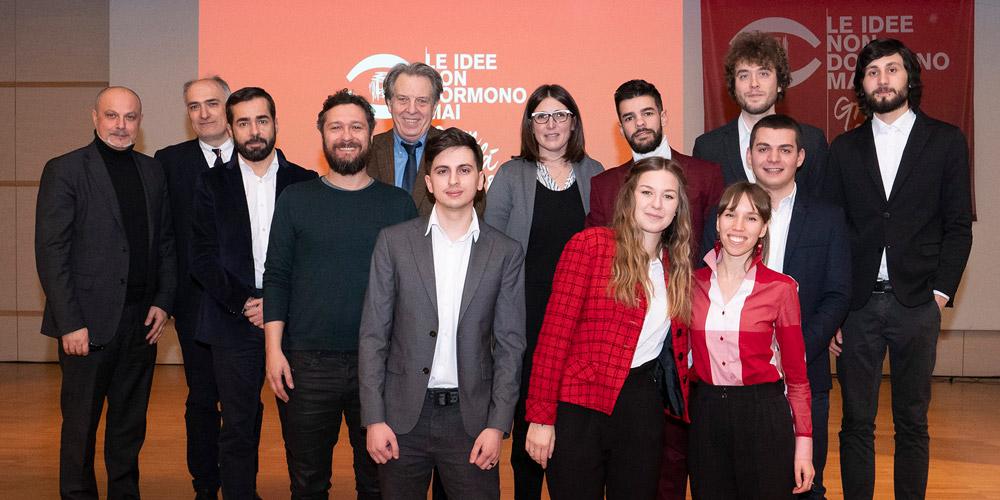 Il Gruppo 3 vincitore assoluto del contest Le idee non dormono mai 2018