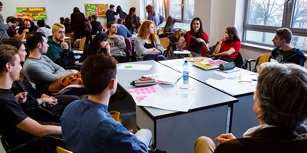 Sette studenti dello IUSVE alla Pordenone Design Week 2019