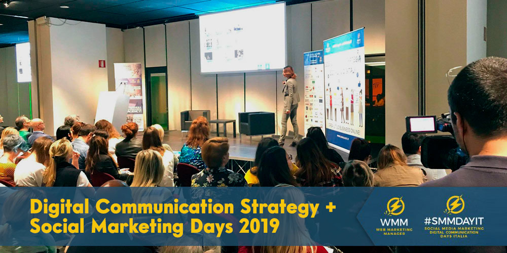 Lo #IUSVEsocialTeam presente al Digital Communication Strategy + Social Marketing Days 2019
