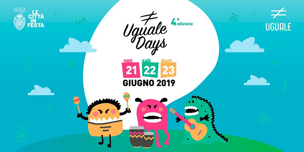IUSVE è partner di Uguale Days 2019: invia la tua candidatura per lo #IUSVESocialTEAM