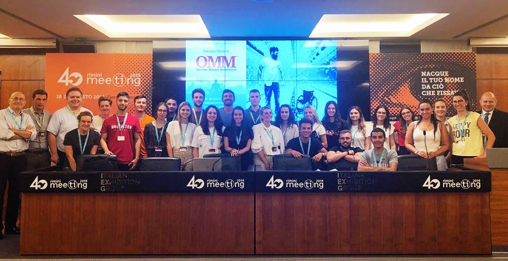 Per il secondo anno gli studenti dello IUSVE sono presenti al Meeting di Rimini