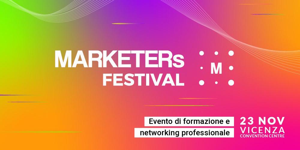 IUSVE è partner del MARKETERs Festival 2019