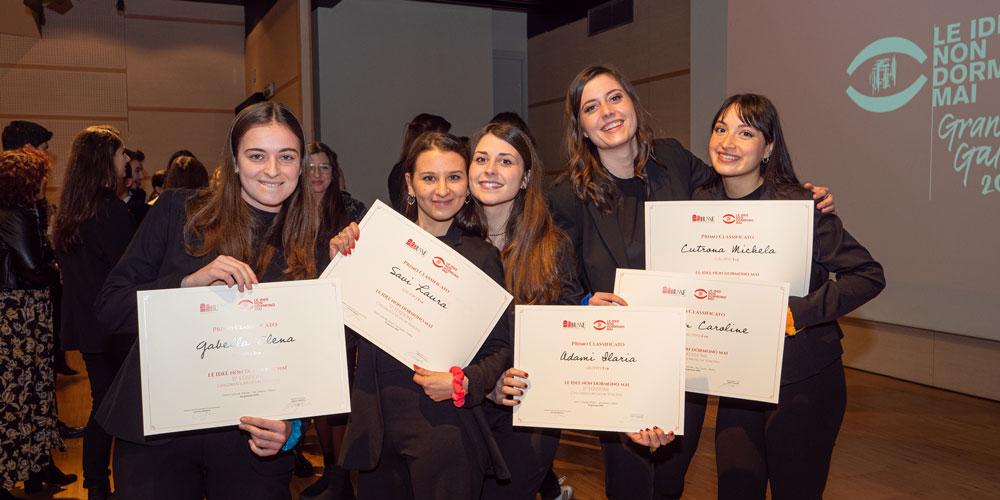 Il Gruppo 01 di Verona vincitore assoluto del contest Le idee non dormono mai 2019