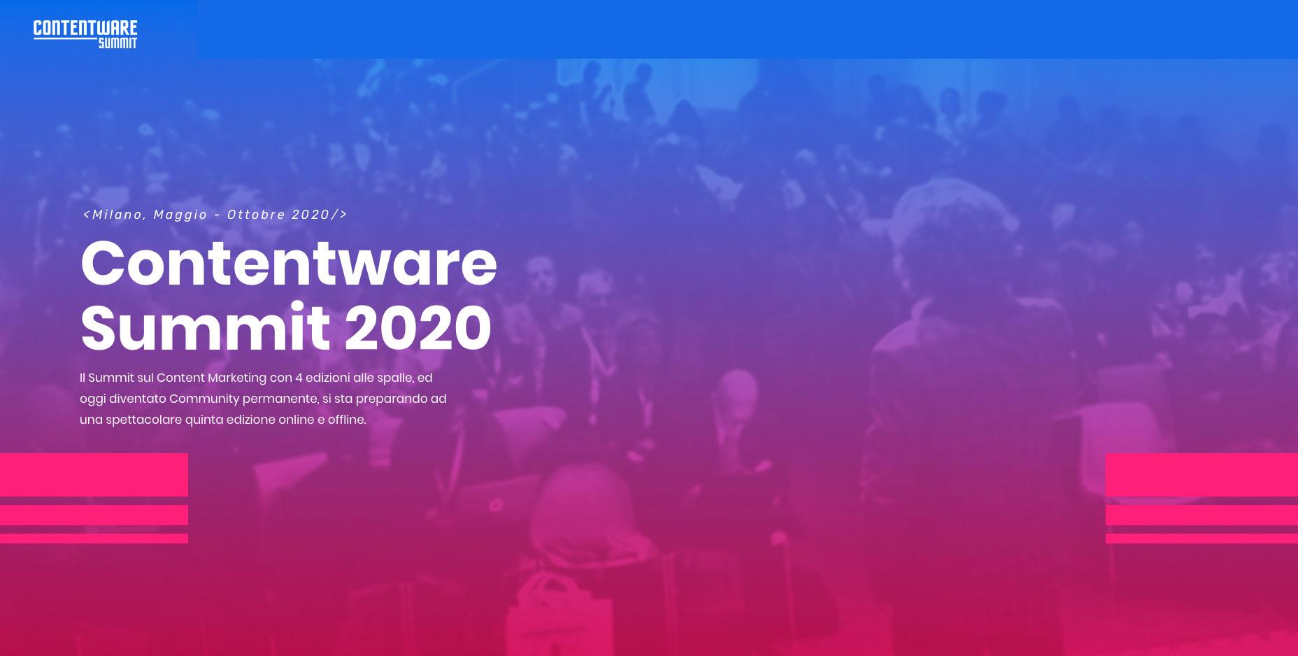 IUSVE e Contentware Summit: partecipa al webinar per scoprire l'evento e i progetti dedicati agli studenti