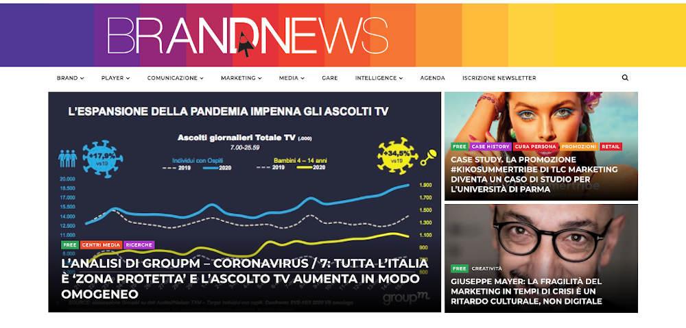 BrandNews offre l'accesso alla newsletter PDF agli studenti IUSVE delle lauree magistrali