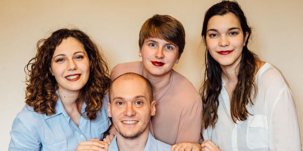 Luna, Irene, Nicola e Aurora vincono l'Hackathon del Parlamento Europeo in collaborazione con il WMF